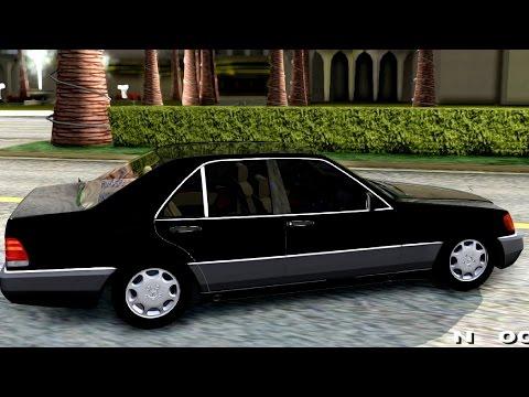 Mercedes Benz W140 500SE 1992 - GTA San Andreas