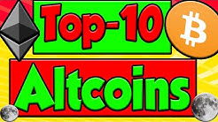 MY TOP 10 ALTCOINS!!!