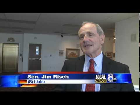 Sen. Jim Risch visits Idaho Falls