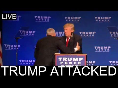 Donald Trump ATTACKED in RENO NEVADA - Trump Attack Attempt - FULL ✔
