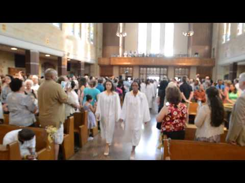 The Mary Louis Academy Graduation Mass Processional _ Trumpet Voluntary