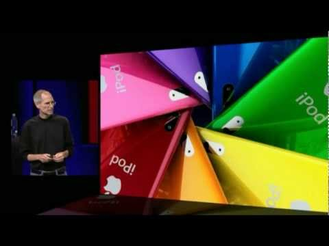 Apple Music Event 2009 - iPod Nano 5th Generation Introduction