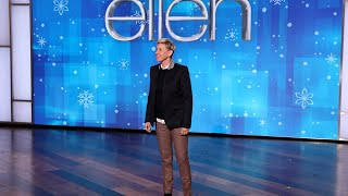 Ellen Shares the Perks of Being a Talk Show Host