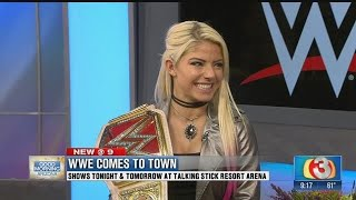 Superstar Alexa Bliss in Phoenix for WWE events