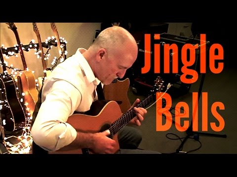 Jingle Bells Rob Michael Fingerstyle Guitar