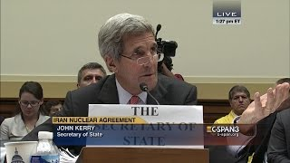 "John Kerry: ""Congressman, I don't need any lessons from you about who I represent.\"