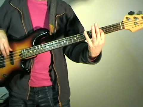 Bryan Adams - Somebody - Bass Cover
