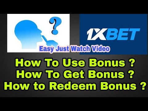 How To Withdraw Bonus Money From 1xbet