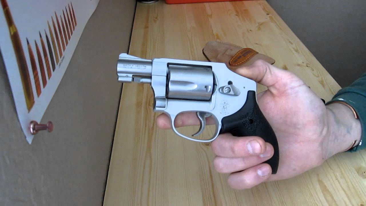 Smith and Wesson 642 Airweight: J Frame Crimson Trace Laser Grips ...