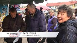 На Рівненському ринку продають радіоактивні гриби