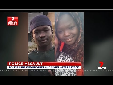 Seven News Exclusive. Violent African Migrants Attack Police.(South Morang)