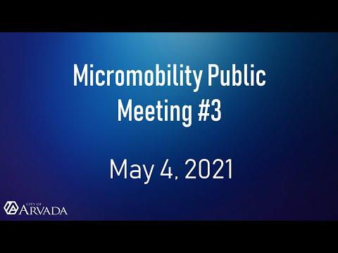 Recording of Public Meeting #3