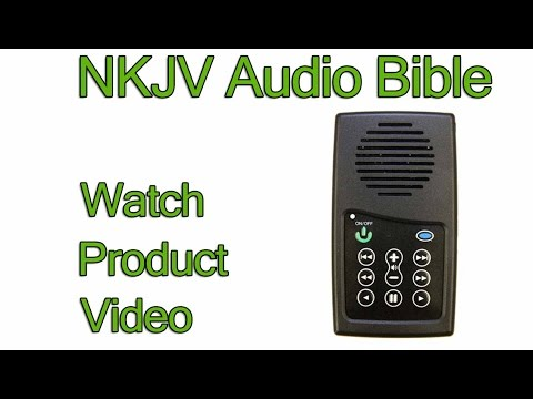 NKJV Audio Bible Player (Product Review)   New King James Version