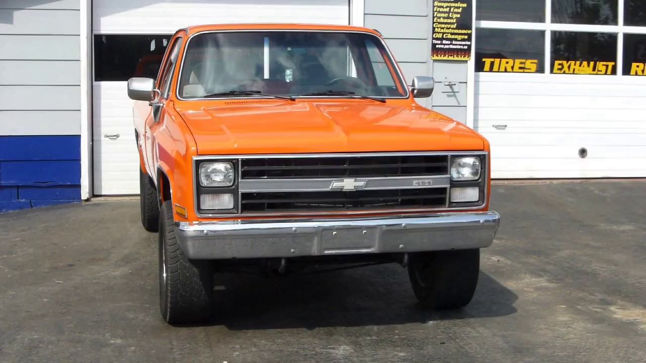 1976 CHEVY 454 BIG BLOCK ex military truck spotted at Perth Motors