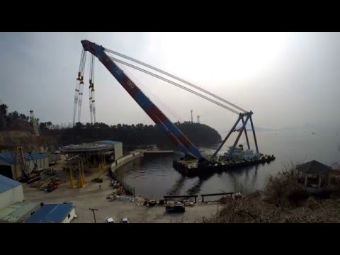 Mariner B Helideck - Lifting for floating crane (1200 Ton)