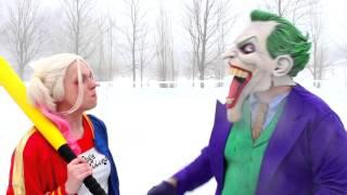 Spiderman & Pink Spidergirl vs Joker! w  Frozen Elsa & Batman! Superhero Fun in Real Life   2