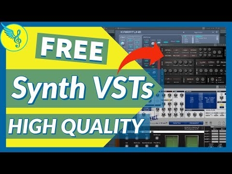 FREE High Quality Synth VST Instrument Plugins