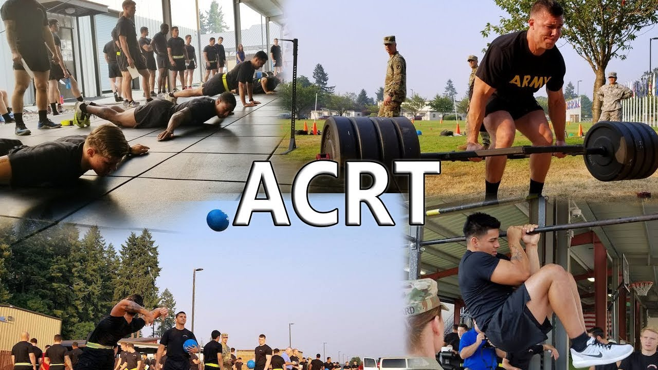 ACRT   The NEW Army PT Test   What Is It? - YouTube