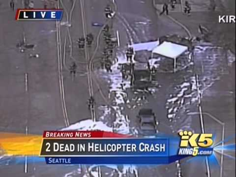 Seattle Helicopter Crash KOMO News 2 Dead
