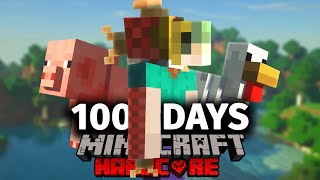 I Spent 100 Days Morphing in Minecraft... Here's What Happened