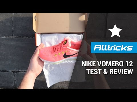 NIKE Zoom Vomero 12 : Test & Review