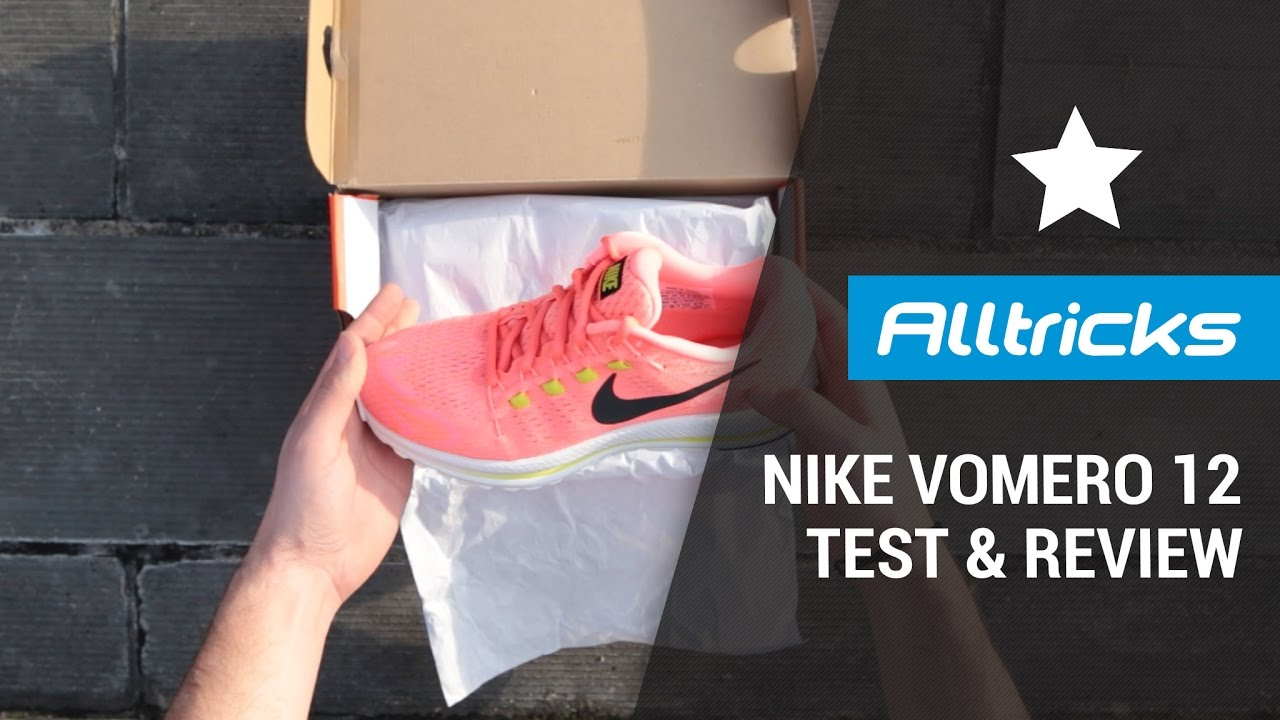 229b1d78dbe NIKE Zoom Vomero 12   Test   Review - YouTube