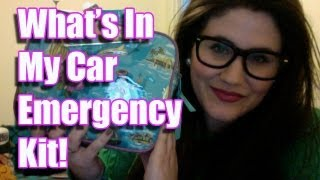 Whats In My Car Emergency Kit??