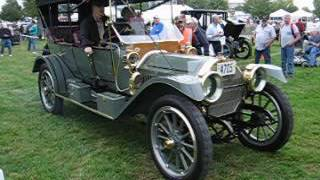 1911 locomobile arriving at the hershey car show 2016