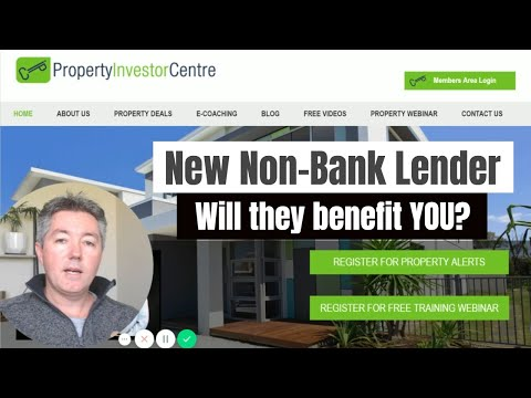 NZ Property Investment - New Non-bank Lending Product