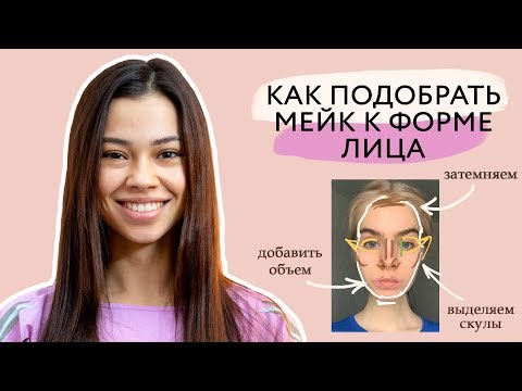 Вопрос: Как наносить макияж правильно, с учетом формы вашего лица?