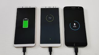 Oppo F5 vs Honor 9i vs Moto G5s Plus BATTERY TEST COMPARISON