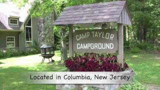 Camp Taylor Campground, Columbia, New Jersey