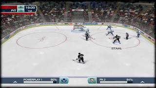 NHL 09 Be A Pro PC Gameplay [HD]