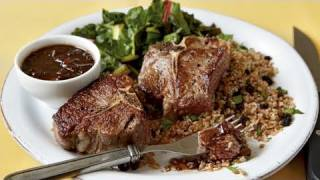 Seared Lamb With Balsamic Sauce Recipe
