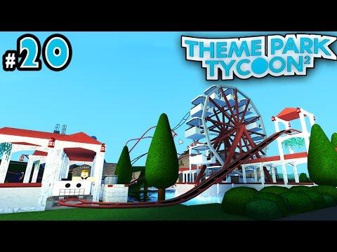 Theme Park Tycoon! Ep. 20: ROMAN Decorating | Roblox