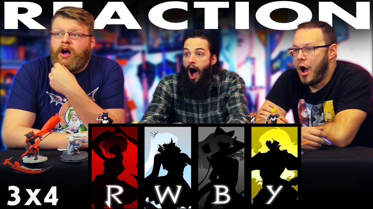 """RWBY Volume 3 Chapter 4 REACTION!! """"Lessons Learned"""" – Blind"""