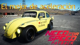 NFSPayback - El mejor coche para aceleración!