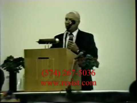 Tom Metzger Addresses The New Black Panther Party