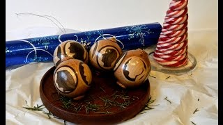 Christmas Ornament Woodturning Challenge Entry