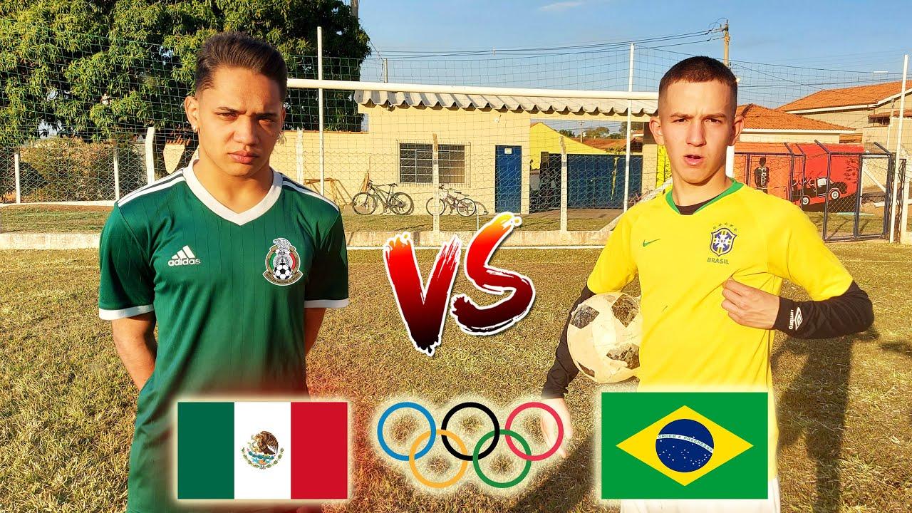 BRASIL VS MEXICO ( semi finais das Olimpiadas ) Aladdin vs Bolivia FUTEBOL