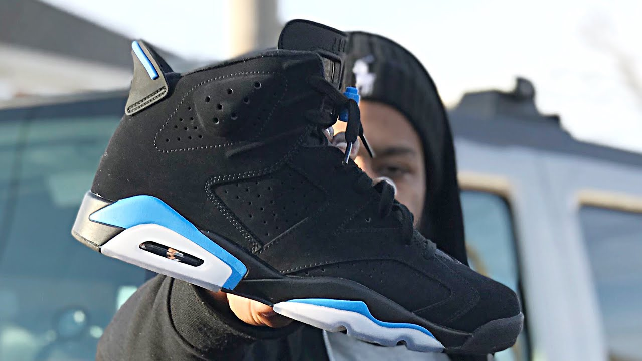 c154a7a577ce Unc Jordan 6 review and on feet view - YouTube