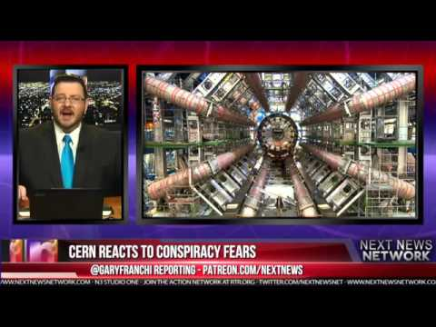 CERN REACTS TO CONSPIRACY FEARS THAT THEY'RE OPENING A 'DEMONIC' GATEWAY