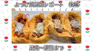 【よつご】ついに!出産当日【レポート】 thumbnail