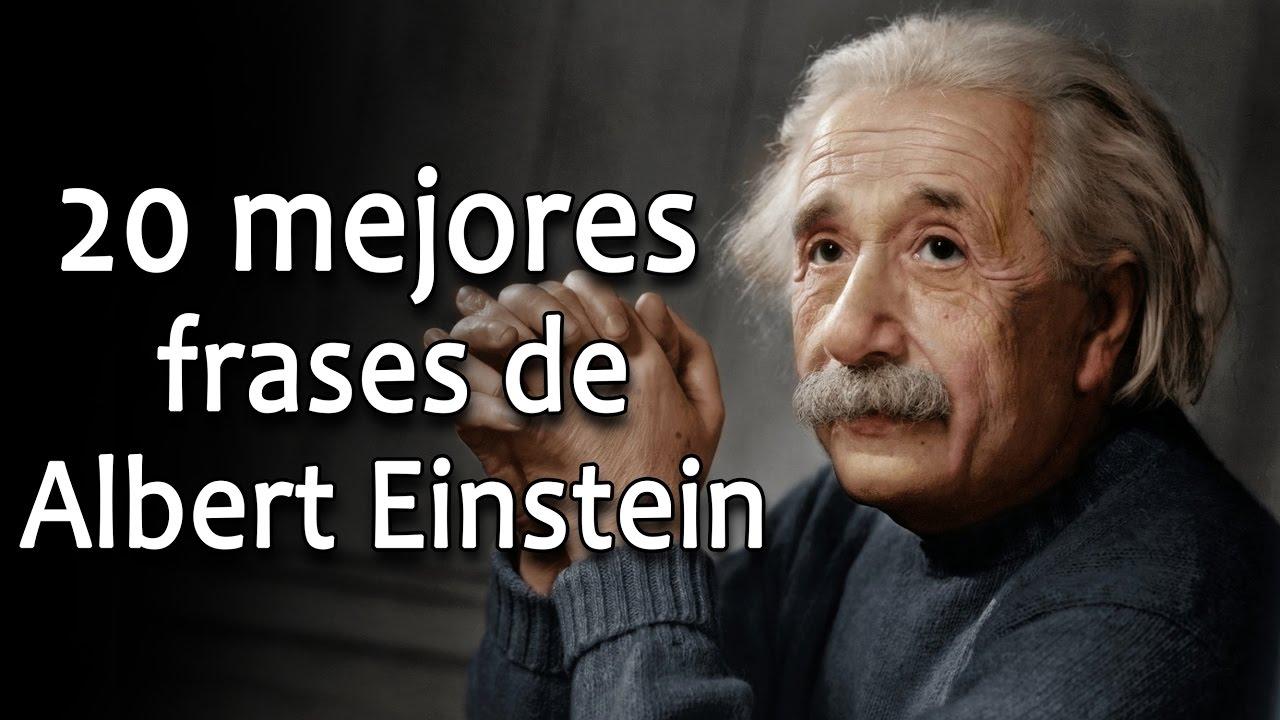 20 Frases De Albert Einstein