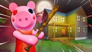 He Found Piggy's Secret House! A Roblox Piggy Movie