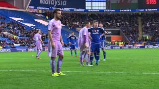 Highlights: Cardiff City 2-0 Reading (Sky Bet Championship) 7th November 2015 HD
