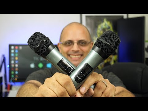 ARCHEER UHF Wireless Microphone System Review Budget And Cheap Under $70!!! 2017