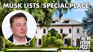 Elon Musk lists his 'special place' in San Francisco for $37.5M | New York Post