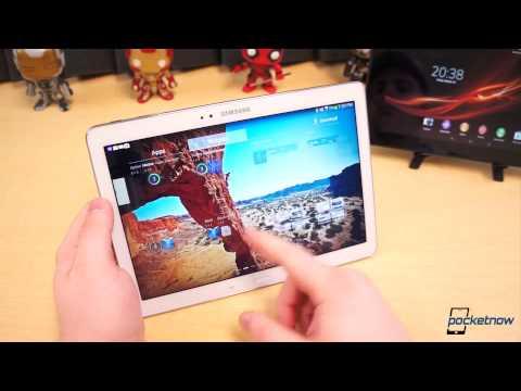 Galaxy Note 10.1 vs Xperia Tablet Z