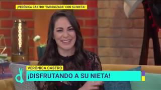 Verónica Castro sufre graciosa anécdota con su nieta en la playa   De Primera Mano